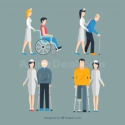 set-of-nurses-helping-injured-people-with-ShebaLagbe_Dhaka_Chittagong_BD