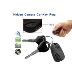 01.Hidden Camera Car-Key Ring