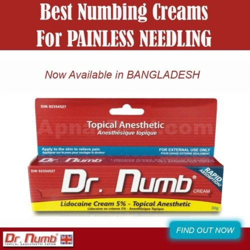 Dr Numb is the best selling Anesthetic cream on the market today