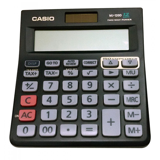 AC-10BFA CASIO CALCULATOR MJ-120D