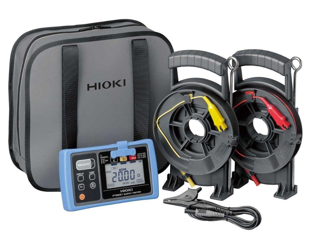 Hioki FT6031-03 Ground Resistance Tester, Dustproof and Waterproof Earth Tester1 (1)