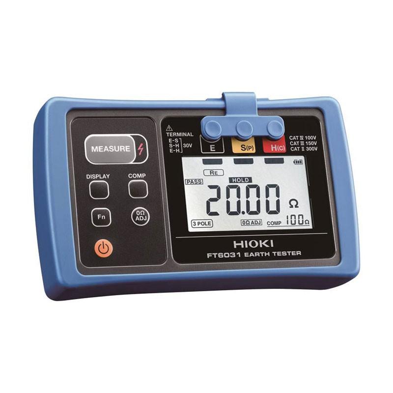 Hioki FT6031-03 Ground Resistance Tester, Dustproof and Waterproof Earth Tester1 (2)